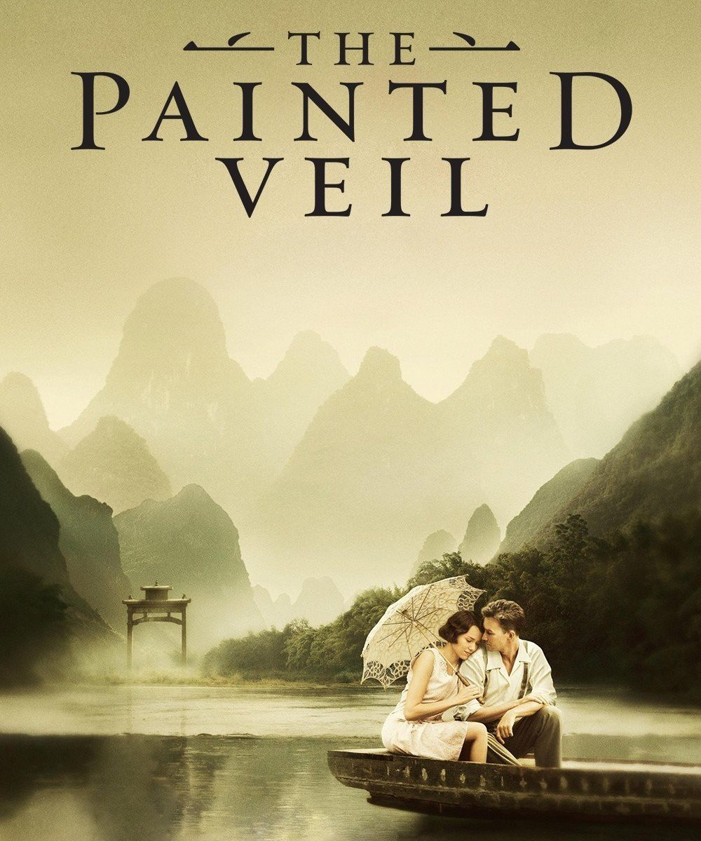 "Plakat von ""The Painted Veil"""