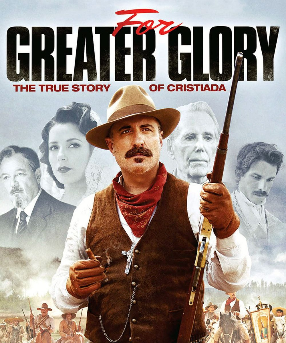 "Plakat von ""For Greater Glory - The True Story of Cristiada"""