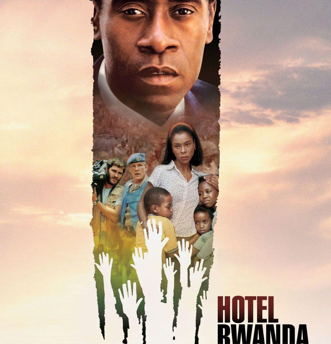 "Plakat von ""Hotel Rwanda"""