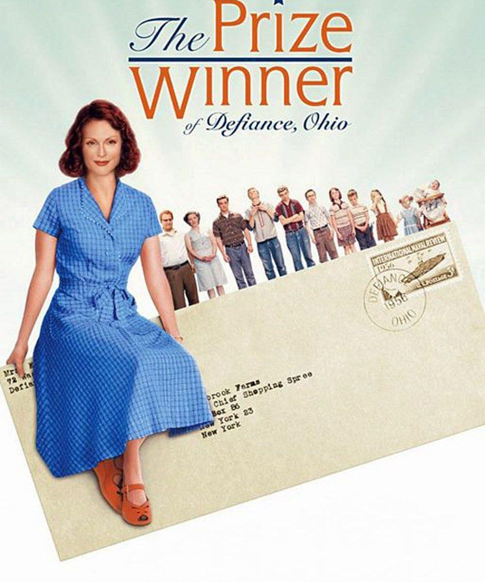 """Plakat von """"The Prize Winner of Defiance, Ohio"""""""